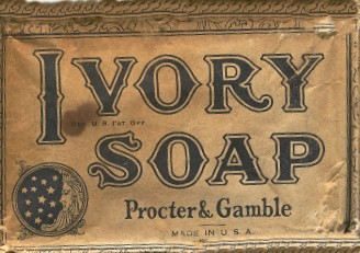 antique Ivory Soap Bar