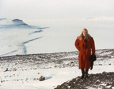red coat ivory in greenland