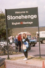 ivory at stonehenge sign