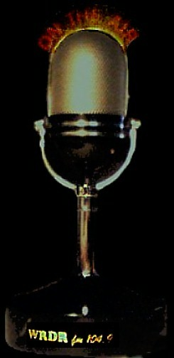wrdr promotional microphone/radio